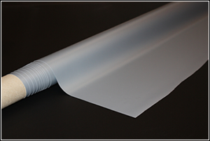 Rear projection screen film, adhesive screen film